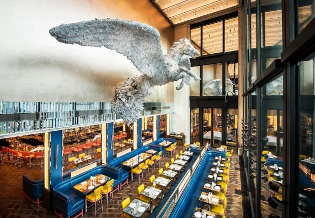 Wedding breakfasts or dinners can be booked at Selfridges' Brasserie of Light.