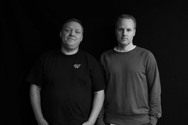 Peter Jansson (l.) and Erik Fagerlind, founders/owners, Sneakersnstuff